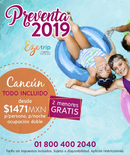 Preventa 2019 Cancún