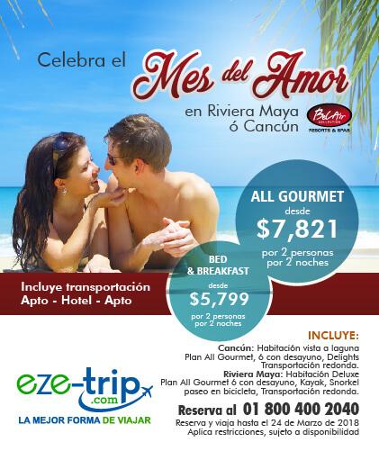 celebra el mes del amor en bel air cancun o riviera maya.