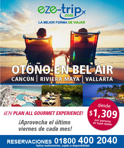Ofertas Otoño para los hoteles Bel Air Vallarta, Riviera Maya y Cancùn