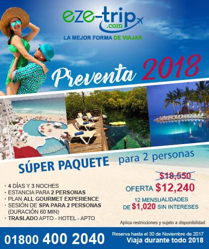 Preventa para los hoteles Bel Air Vallarta, Riviera Maya y Cancùn