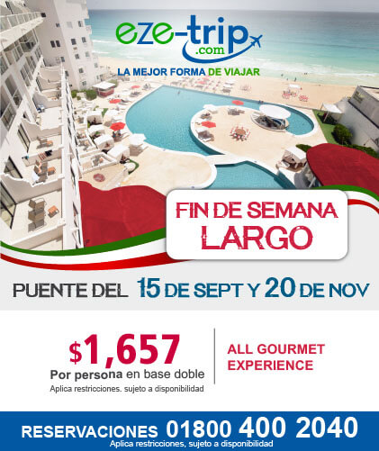 Fin de semana largo para los hoteles Bel Air Vallarta, Riviera Maya y Cancùn